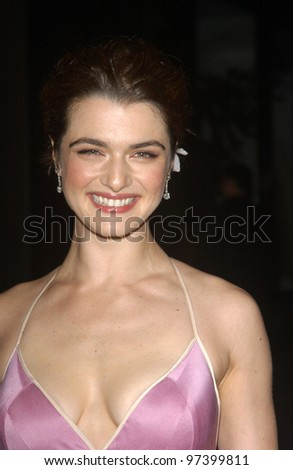 Actress RACHEL WEISZ at the world premiere, in Hollywood, of her new movie Runaway Jury. Oct 9,2003  Paul Smith / Featureflash