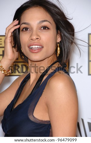 Actress ROSARIO DAWSON at the 11th Annual Critics' Choice Awards in Santa Monica, presented by the Broadcast Film Critics Association. January 9, 2006  Santa Monica, CA  2006 Paul Smith / Featureflash - stock photo