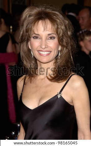 Actress SUSAN LUCCI at the 28th Annual People's Choice Awards in Pasadena. 13JAN2002.  Paul Smith/Featureflash - stock photo