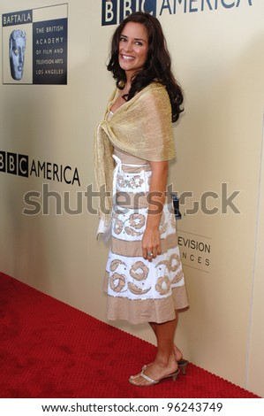 Actress TANYA MEMME at the BAFTA/LA & Academy of TV Arts & Sciences 3rd Annual Tea Party honoring Emmy nominees. September 17, 2005  Los Angeles, CA.  2005 Paul Smith / Featureflash
