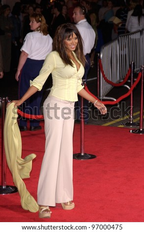 Actress TRACI BINGHAM at the world premiere, in Hollywood, of Ladder 49. September 20, 2004