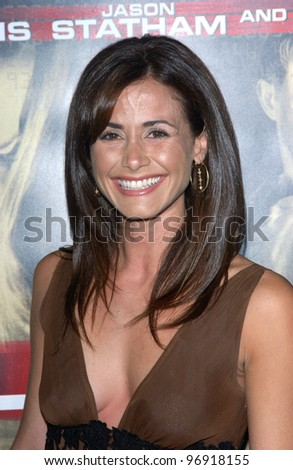 Actress VALERIE CRUZ at the Los Angeles premiere of Cellular. September 9, 2004 - stock photo