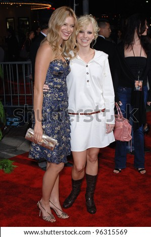 Actresses AMY SMART (left) & ANNA FARIS at the Los Angeles premiere of their new movie Just Friends. November 14, 2005 Los Angeles, CA.  2005 Paul Smith / Featureflash