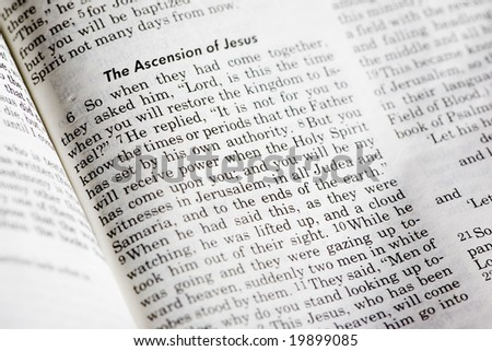 Acts 1:8 - a popular passage in the Christian New Testament