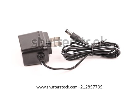 adapter isolated  - stock photo
