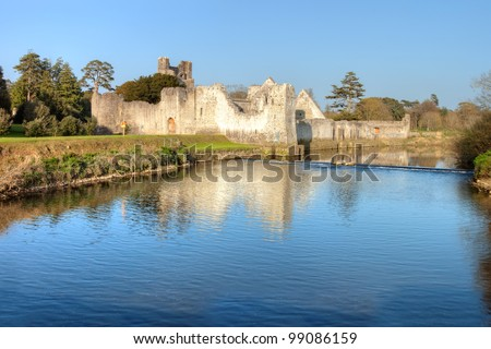 Adare Castle Co. Limerick - Ireland. - stock photo