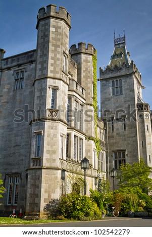 Adare manor in  Co. Limerick, Ireland - stock photo