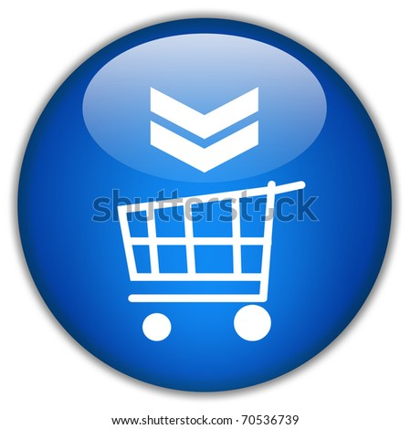 Add to cart button - stock photo