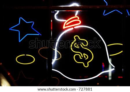 Addict casino - stock photo