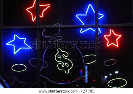 Addict casino (Roulette, Black Jack...) - stock photo