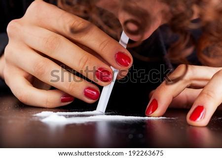 Women cocaine addiction