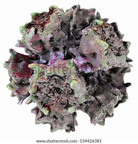 Adeno Virus Type 3 - stock photo