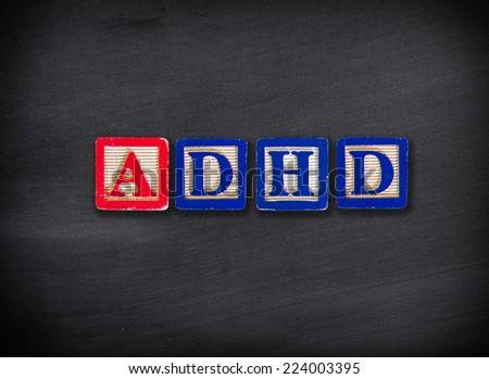 ADHD - stock photo