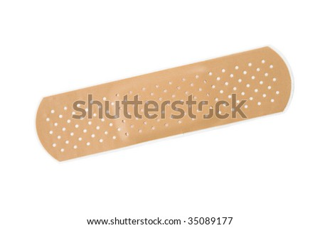 Adhesive Bandage - stock photo