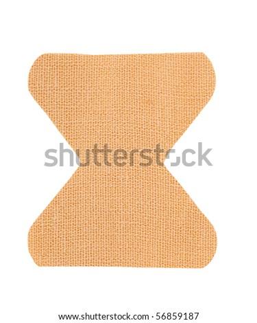 adhesive bandage - stock photo
