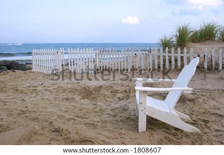 Adirondack Chair Beach View