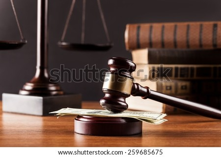 Adjournment, arbitrate, attorney. - stock photo