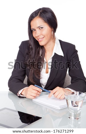 administrative young woman