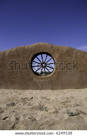 Adobe Wall - stock photo