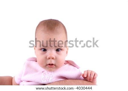 Adorable baby portrait