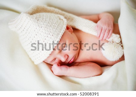 adorable newborn baby