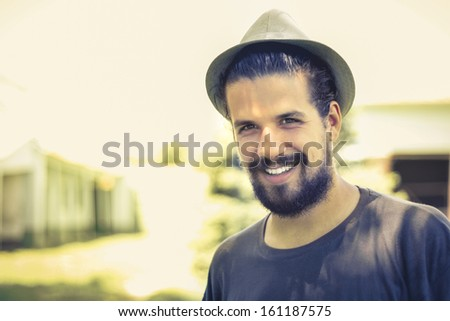 Adorable Smile - stock photo