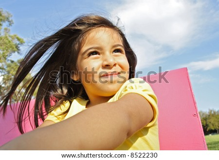 Adorable 3 year old Model - stock photo