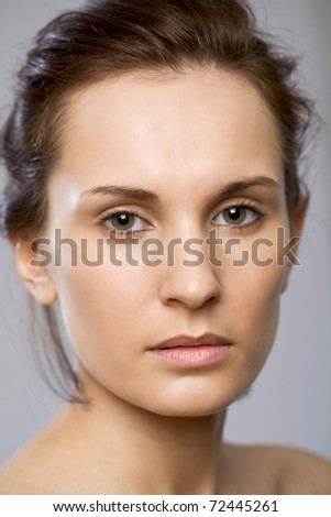 Adorable young woman - stock photo