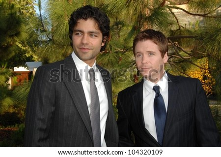 Adrian Grenier and Kevin Connolly  at the 8th Annual Chrysalis Butterfly Ball, Private Residence, Los Angeles, CA. 06-06-09