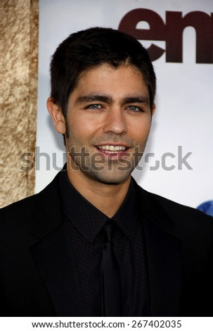 Adrian Grenier at the HBO's 'Entourage' Season 7 Premiere held at the Paramount Studios lot in Hollywood on June 16, 2010.