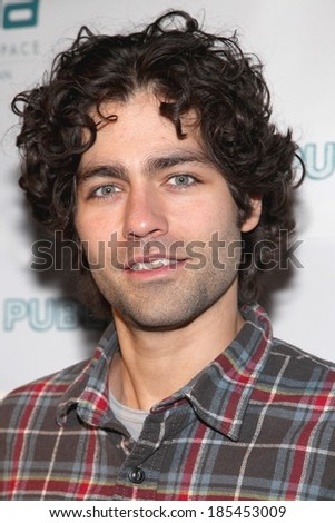 Adrian Grenier at WE LIVE IN PUBLIC Premiere, Arena, New York, NY March 1, 2010