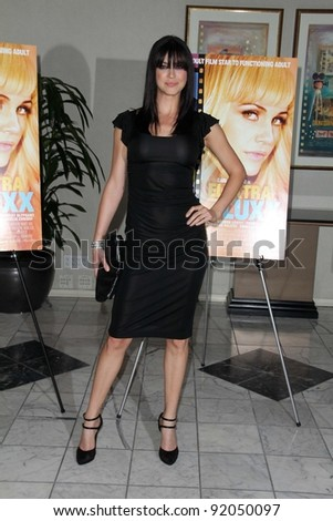 "Adrianne Palicki at the ""Elektra Luxx"" Los Angeles Special Screening, Aidikoff Screening Room, Beverly Hills, CA. 03-04-11"