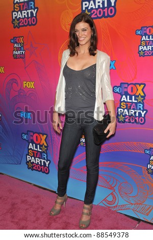 "Adrianne Palicki - star of ""Lone Star"" - at Fox TV's All Star Party at Santa Monica Pier. August 2, 2010  Santa Monica, CA Picture: Paul Smith / Featureflash"