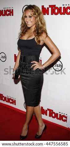Adrienne Bailon at the Summer Stars Party 2008 held at the Social in Hollywood, USA on May 22, 2008.
