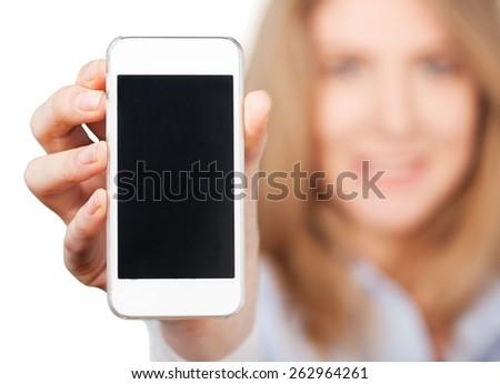 Adult, background, blank. - stock photo