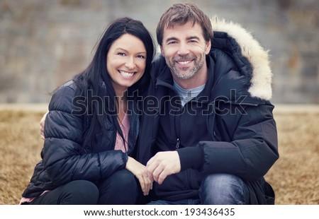 Adult Couple In Love - stock photo