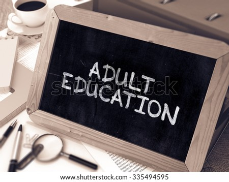 Continuing Adult Education