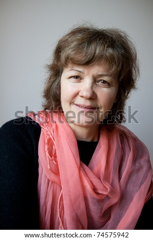 adult woman - stock photo