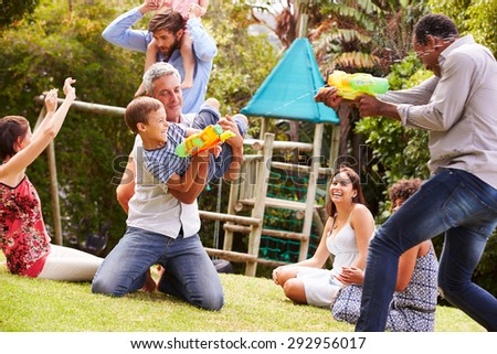 Adults Playing With Kids