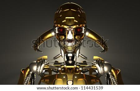 Advanced robot - stock photo