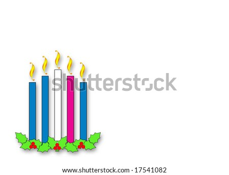 advent candles jpeg with room for copy