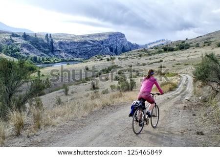 Adventure Cycle - stock photo