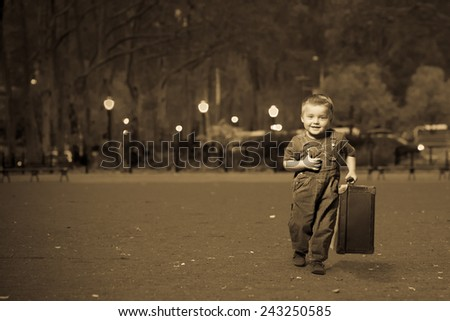 ADVENTURE JOURNEY - stock photo