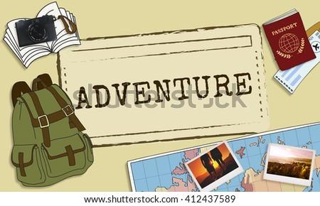 Adventure Travel Destinations Trip Holiday Concept - stock photo