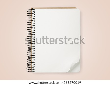 Advertise. Collection of various  blank white  books on white background. each one is shot separately - stock photo