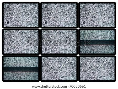 Advertise TV Panel - stock photo