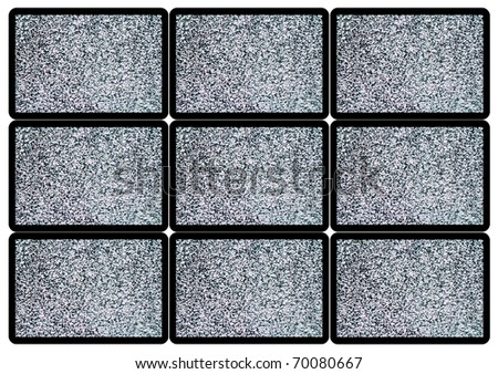 Advertise TV Panel - stock photo
