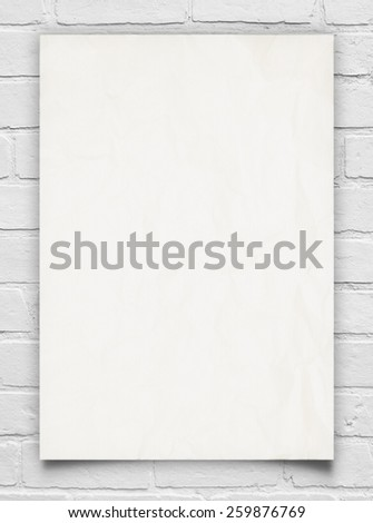 Advertisement on the wall. Background for Business. - stock photo