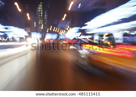 Advertising background of automobile and transportation equipment