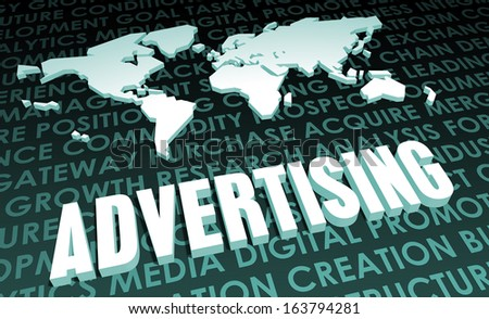 Advertising Industry Global Standard on 3D Map